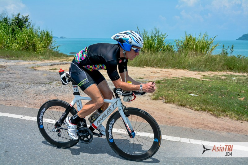 Bike course offers it all: Hills, shade and long flat sections.