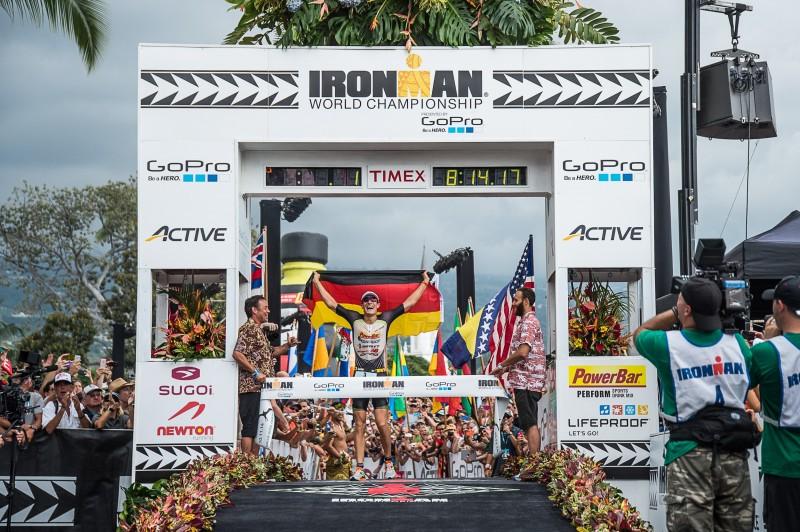 Sebastian Kienle, 2014 Ironman World Champion