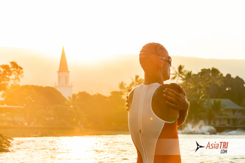 Ironman Hawaii starts at 6.25am local time, which means just past midnight to most Asian countries