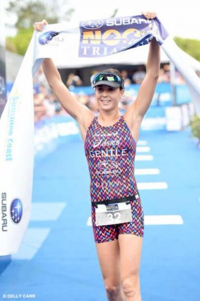 Australia Ashley Gentle continues her winning streak in Noosa after winning Ironman 5i50 in Bohol, Philippines