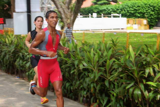 Meet 'Lucky', Sri Lanka's first professional triathlete