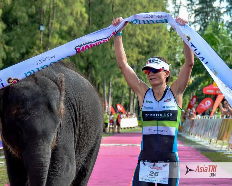 Parys Edwards, the 2014 Laguna Phuket Triathlon Champion, is aiming a double victory