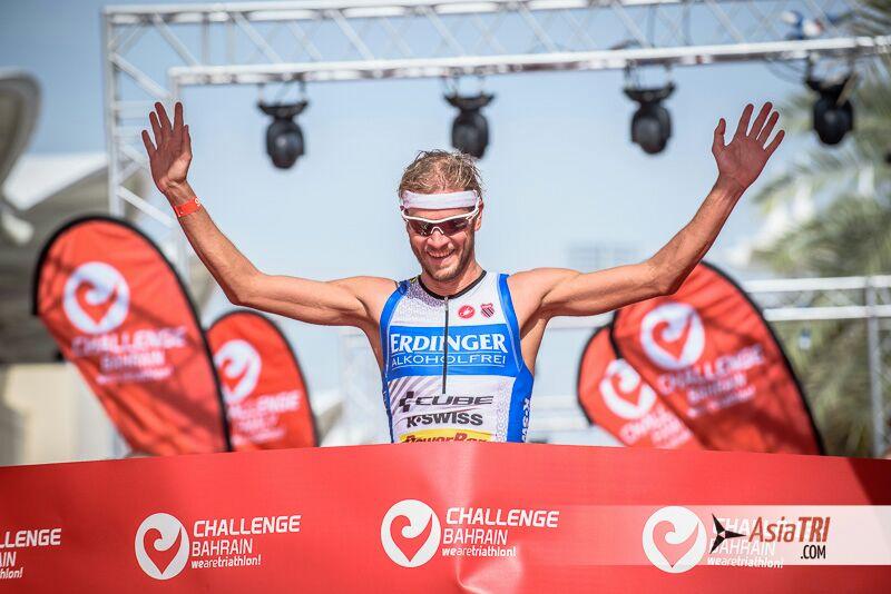 Michael Raelert wins the inaugural Challenge Bahrain